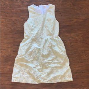Crown & Ivy Seersucker Dress w Pockets
